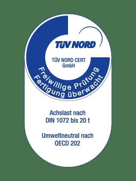 Tuev nord DIN 1073 OECD 202