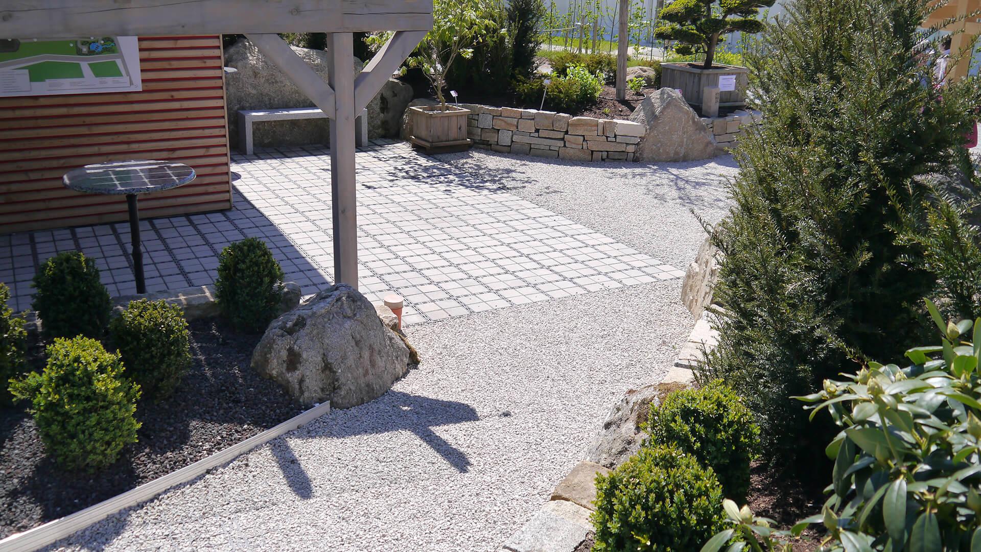 Gravier Autour De La Maison ecoraster maison et jardin