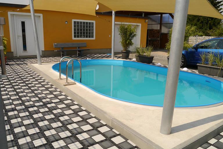 Pool-Fundament Arzberg
