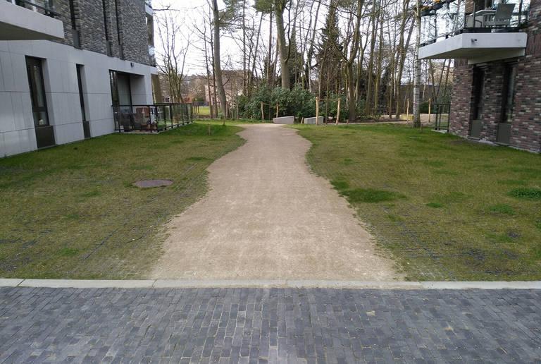 Gehweg Merksplas, Belgien
